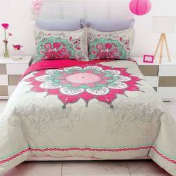 Angelica Mandala Berry Duvet Comforter Set New Girls Teen Ho