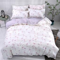 Animal Printing Bedding Set Duvet Quilt Cover+Sheet+Pillow C