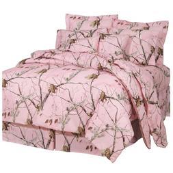Realtree AP Pink Queen Comforter Set