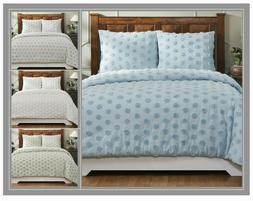 Better Trends Athenia Collection 100% Cotton Chenille Comfor