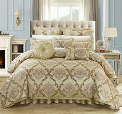 Chic Home 9 Piece Aubrey Decorator Upholstery Quality Jacqua