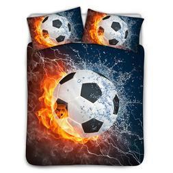 Ball Games Bedding Cover Bedspread Sheet Comforter Set Twin