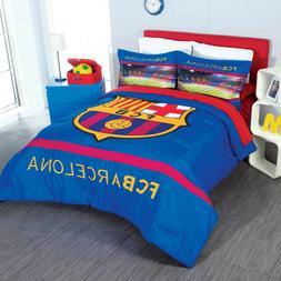 Barcelona Club FCB Barca Football Soccer Comforter Set New B