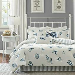 Harbor House Beach House King Size Bed Comforter Set - Blue,