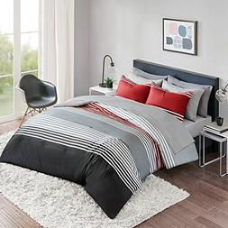 Bed in a Bag Twin XL Comforter Set with Sheets feat. Two Sid