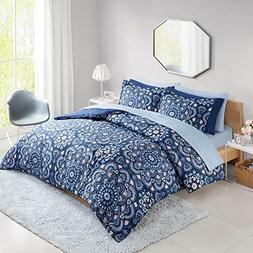 Bed in a Bag Queen Comforter Set with Sheets feat. Two Side
