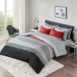 Bed in a Bag Full Comforter Set with Sheets feat. Two Side P