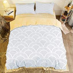 Comfortable Bed Sheet Set with Bedding Pillow Case Cover for