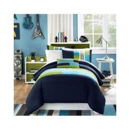 Bedding Sets Full For Teens Kids Boys Size Comforter Blue Gr