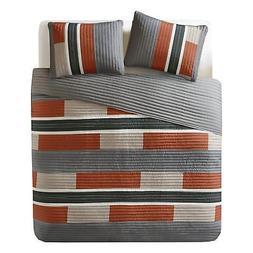 Bedspreads Queen Size Mini Quilt Set - Casual Pierre 3 Piece