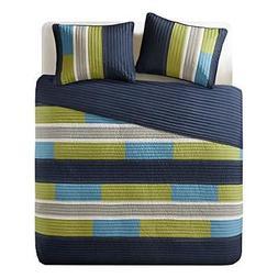Bedspreads Twin XL Size Mini Quilt Set - Casual Pierre 2 Pie