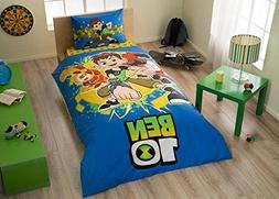 Bekata Ben 10 Bedding Set, Kids Quilt/Duvet Cover Set Single