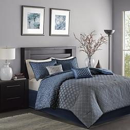 biloxi comforter set navy king