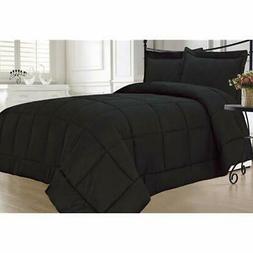 "Black Comforter Sets Down Alternative Twin Home "" Kitchen"