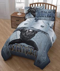 Franco Black Panther Full/Twin Comforter and Full Sheet Set
