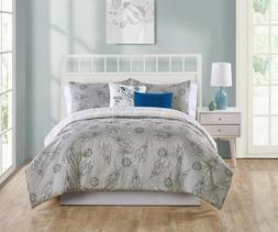 VCNY Home Blast Off 4 Pc Comforter Set, Twin, Grey