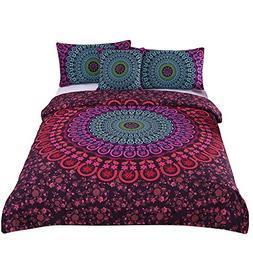 Sleepwish 4 Pcs Mandala Bedding Posture Million Romantic Sof