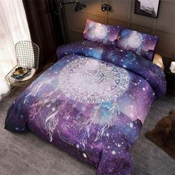 Bohemian Galaxy Dream Catcher Comforter Set Kids Teens Beddi