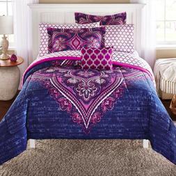 Boho Comforter Set For Teens Girls Boys Bedroom Bed In A Bag