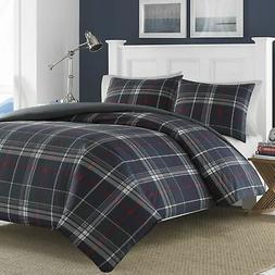 Nautica Booker Cotton Comforter Set, Full/Queen, Gray