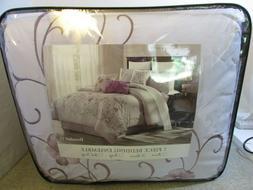 Brenda #11 - 7 Piece Comforter Set Cotton Touch Oversized Em