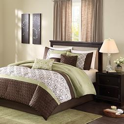 Madison Park Briggs King Size Bed Comforter Set Bed In A Bag