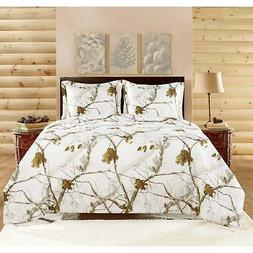 Realtree Bright Snow Comforter Set