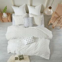 Urban Habitat Brooklyn Comforter Set Full/Queen Size - Ivory