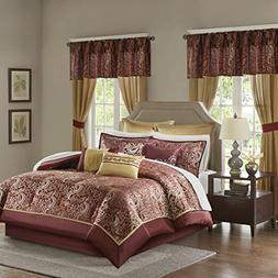 Madison Park Essentials Brystol Queen Size Bed Comforter Set
