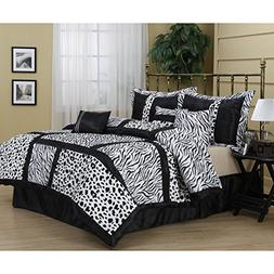 7 Piece California King Bedding Comforter Set, for Master Be