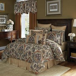 Croscill Callisto WC King Comforter Set, 4 Piece