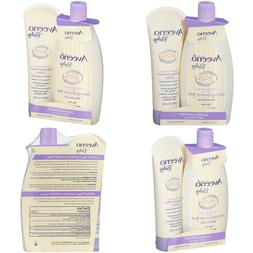 Aveeno Baby Calming Comfort Bath  Lotion Set With Natural Oa