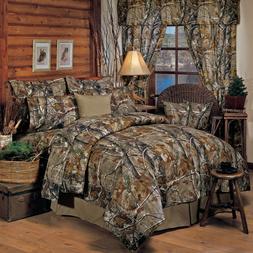 Camouflage Bedding Set Comforter Bed Skirt Shams & Sheets Re