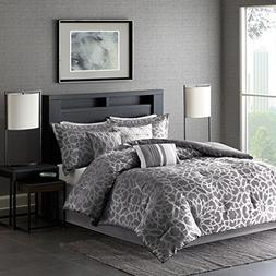 Madison Park Carlow Cal King Size Bed Comforter Set Bed In A