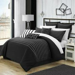 Carlson 9 Piece Comforter Set by Chic Home