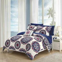 Chic Home Catalonia Reversible Bed in a Bag Comforter Set