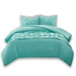 Comfort Spaces Full/Queen Duvet Cover - Cavoy - Aqua Fashion