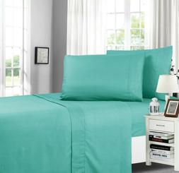 Elegant Comfort Chevron Embossed Collection 4-Piece Bed Shee