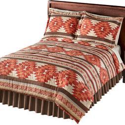 Cheyenne Aztec Pattern Comforter Set, 3 Pc