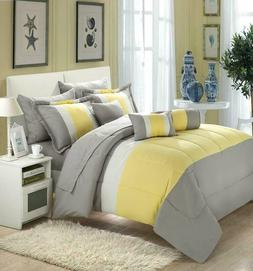 Chic Home Serenity 10 Piece Comforter Set Complete Bed In A