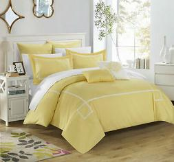 Chic Home Wilma  - 7 Piece Embroidered Comforter Set