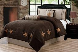 Grand Linen 6 Piece Chocolate Brown/Taupe/Camel Oversize LOD