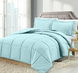 Clara Clark Luxury Down Alternative Comforter Set Hypoallerg