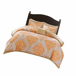Comfort Spaces Coco 4 Piece Comforter Set Ultra Soft Printed