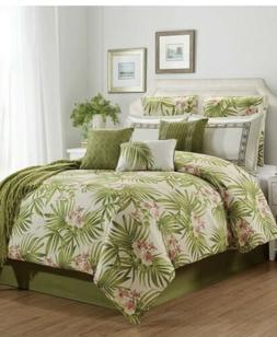 Hallmark Collectibles St Croix Green Floral Tropical 10 Piec