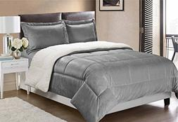 Swift Home Collection Ultra-Plush Reversible Micromink and S