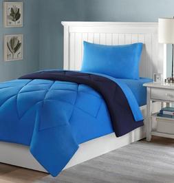 Lantrix College Dorm Bedding:Comforter and Sheets- 4 PC. Set