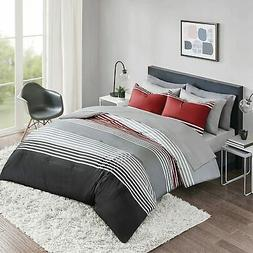 Comfort Spaces Colin 9 Piece Comforter Set All Season Microf
