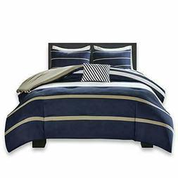 Comfort Spaces Verone 3 Piece Comforter Set Ultra Soft Micro