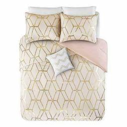 Comfort Spaces Vivian 4 Piece Comforter Set Ultra Soft All S